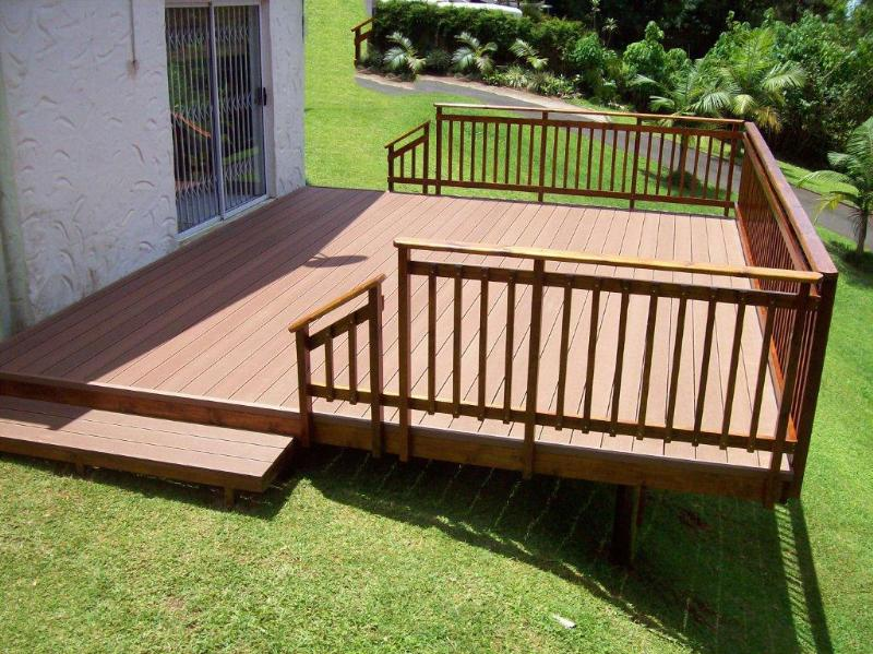 Outdoor decking outdoor decking wood 4everdeck for Hardwood outdoor decking
