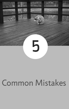 common mistakes when building a deck
